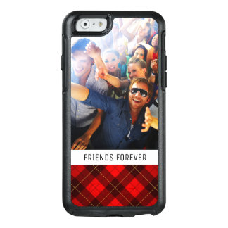 Custom Photo & Text Wallace tartan background OtterBox iPhone 6/6s Case