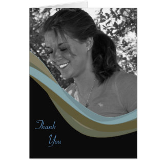 Custom Photo Thank You card - Graduation