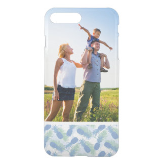 Custom Photo Tropical Pastel Pineapple Pattern iPhone 8 Plus/7 Plus Case