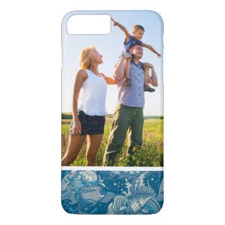 Custom Photo Tropical Sea Pattern iPhone 8 Plus/7 Plus Case