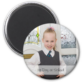 Custom Photo Upload | 6 Cm Round Magnet