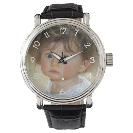 Custom Photo Watch for Dad