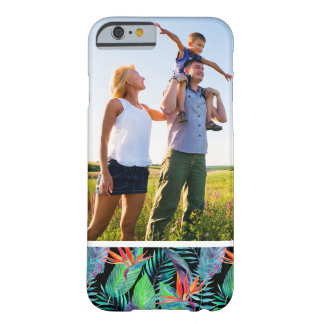 Custom Photo Watercolor Bird Of Paradise Barely There iPhone 6 Case
