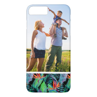 Custom Photo Watercolor Bird Of Paradise iPhone 8 Plus/7 Plus Case