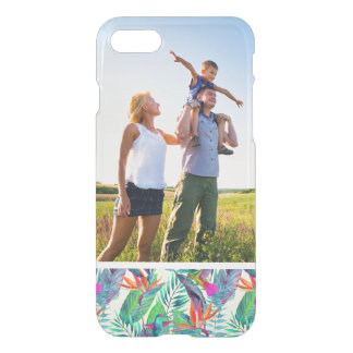 Custom Photo Watercolor Humminbirds In The Jungle iPhone 8/7 Case