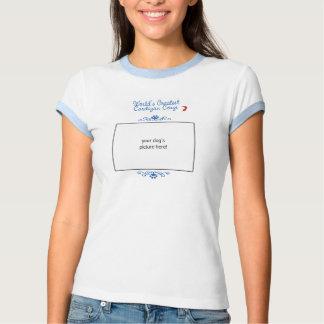 Custom Photo! Worlds Greatest Cardigan Corgi T Shirt