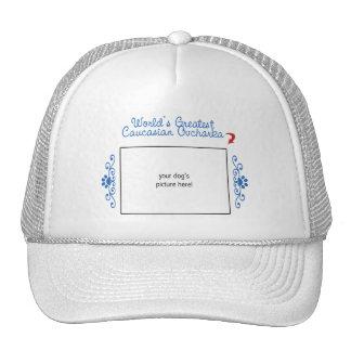 Custom Photo! Worlds Greatest Caucasian Ovcharka Trucker Hat