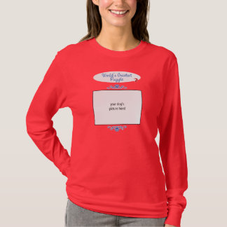 Custom Photo! Worlds Greatest Puggle T-Shirt
