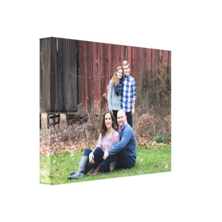 Custom photo wrapped canvas - makes a great gift! gallery wrapped canvas