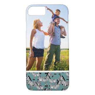 Custom Photo Zebra Pattern iPhone 8/7 Case