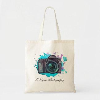 Custom Photography Camera Tote Bag