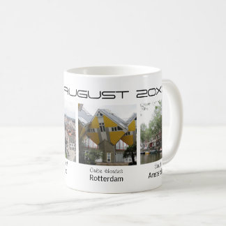 Custom photos editable text holiday souvenir coffee mug