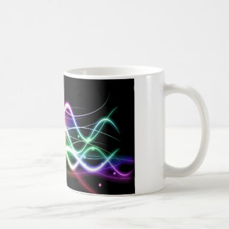 Custom Photoshop Streaks Coffee Mug