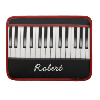 Custom Piano 13 Inch Macbook Pro Flap Sleeve