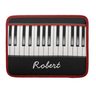 Custom Piano 13 Inch Macbook Pro Flap Sleeve Sleeve For MacBook Pro