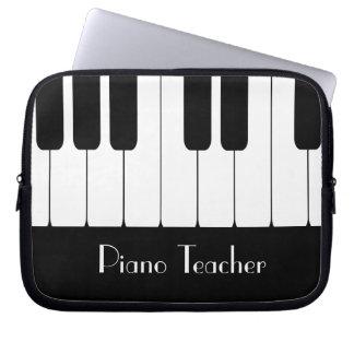 Custom Piano Laptop Sleeve
