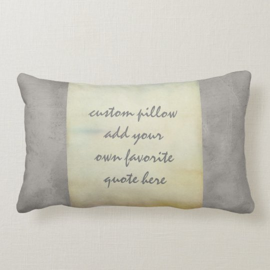 custom pillow shabby chic style add your quote