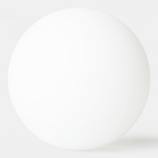 One Star Ping Pong Ball