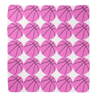 Custom Pink Basketball Bandana