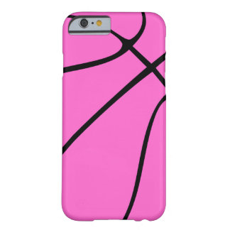 Custom Pink Basketball Barely There iPhone 6 Case