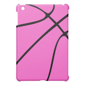 Custom Pink Basketball iPad Mini Case