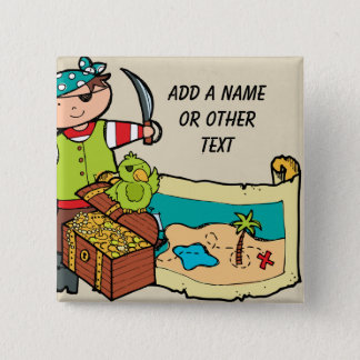 Custom Pirate Button