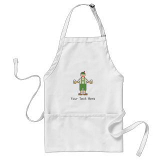 Custom Pixel German with Beer Standard Apron