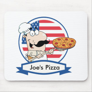 Custom Pizza Gift Mouse Pads
