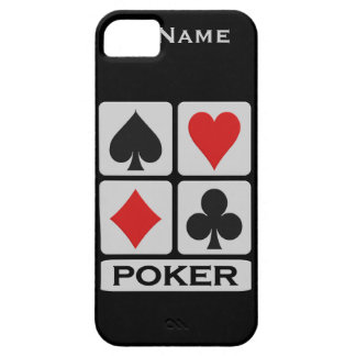Custom Poker Player iPhone 5 Case-Mate