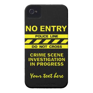 Custom Police Line Blackberry Bold case