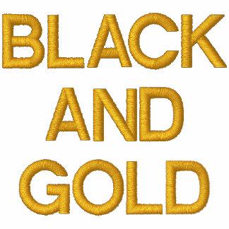 Custom POLO BLACK AND GOLD