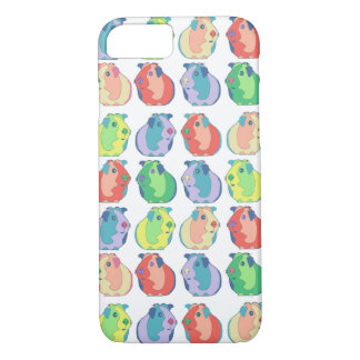 Custom Pop Art Guinea Pig Pattern iPhone 8/7 Case