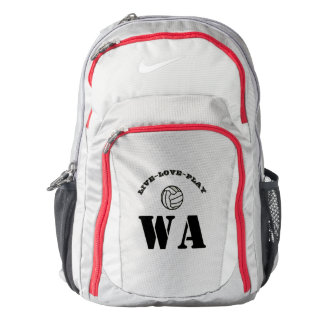 Custom Positions Ball Design Netball Backpack