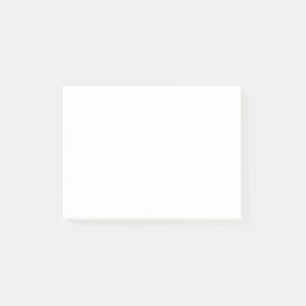 Custom Post-it® Notes 4x3