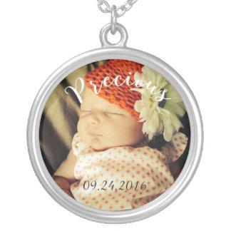 Custom 'Precious' Baby Large Necklace