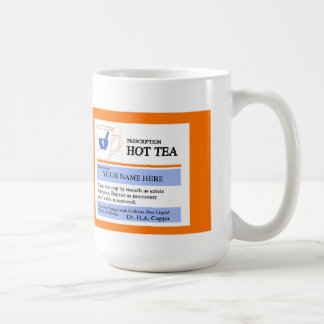 Custom Prescription Tea Mug