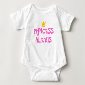 CUSTOM PRINCESS SHIRT,ADD YOUR CHILDS NAME BABY BODYSUIT