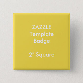 "Custom Print 2"" Square Badge Blank Template"