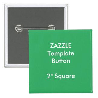 "Custom Print 2"" Square Button Blank Template"