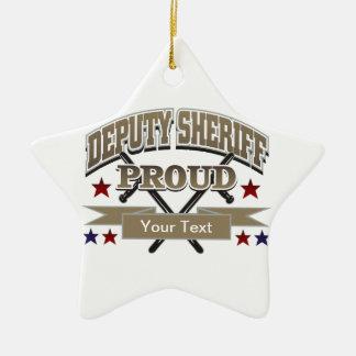 Custom Proud Deputy Sheriff Ornament