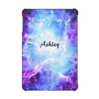 Custom Purple Blue Galaxy Savvy iPad Mini 2&3 Case