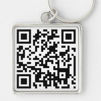 Custom QR CODE Key Ring