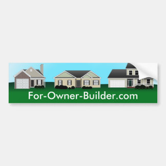 Custom Real Estate Bumper Sticker