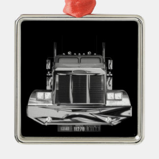 Custom Rear-View Mirror Truck Ornament
