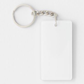 Custom Rectangular Keychain