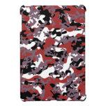 Custom Red Camo iPad Mini Case Savvy (Glossy)