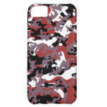 Custom Red Camo iPhone 5 Case-Mate Barely There