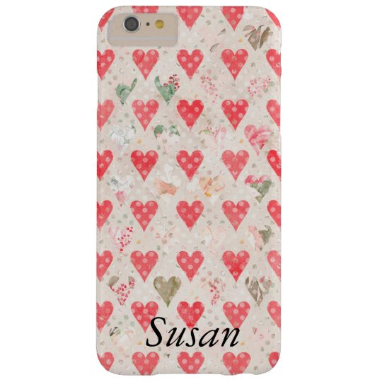 Custom Red Hearts iphone 7 Cases Phone Cover