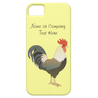 Custom Red Rooster Farm Animal yellow iPhone 5 Cover
