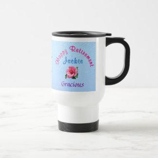 Custom Retirement Gifts for Women Call Linda Stainless Steel Travel Mug